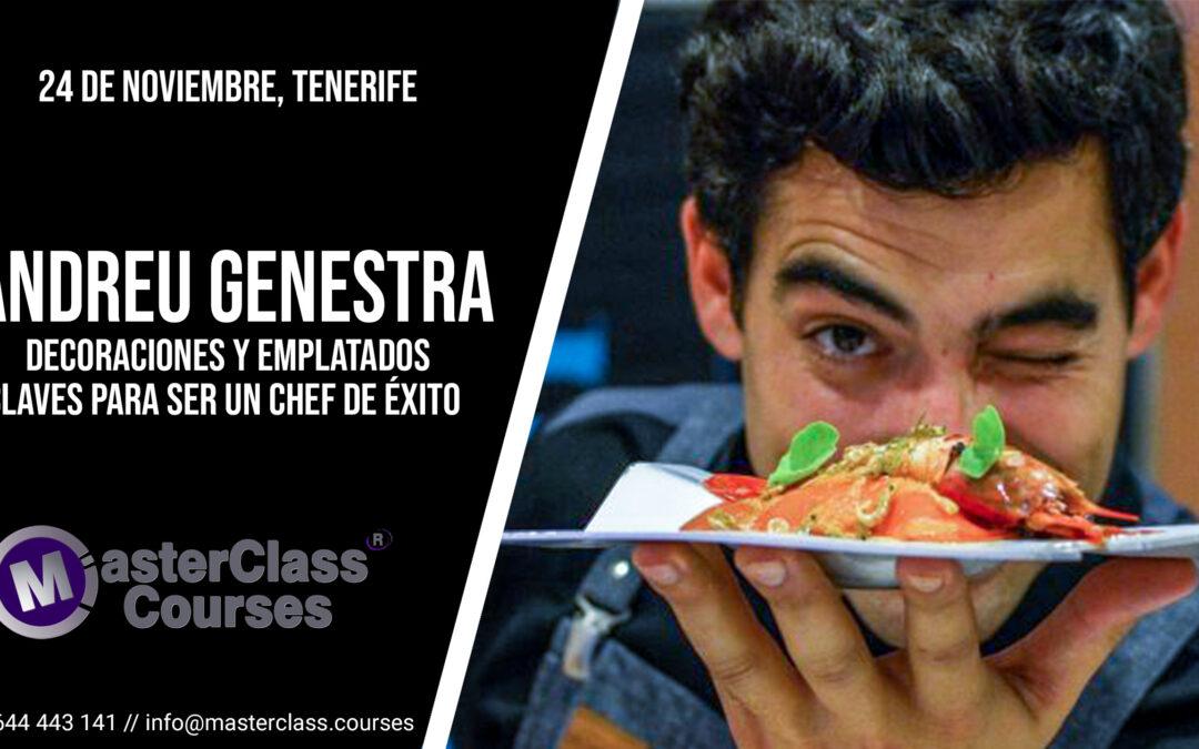 Decoraciones y emplatados. Claves para ser un Chef de éxito. 24 de noviembre de 2020. Tenerife.