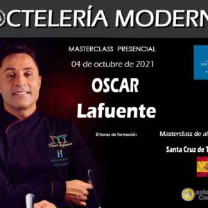 Coctelería Moderna. Oscar Lafuente de Blas. 8 horas. 04 de Octubre de 2021. Santa Cruz de Tenerife. PRESENCIAL