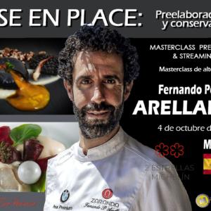 Mise en place. Preelaboraciones y conservación. Fernando Pérez Arellano. 4 de octubre de 2021. Madrid (El Dúo Harinero). PRESENCIAL & STREAMING