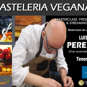 Pastelería Vegana. Luis Alberto Perera Magdalena. 29 de Noviembre de 2021. Tenerife. PRESENCIAL.