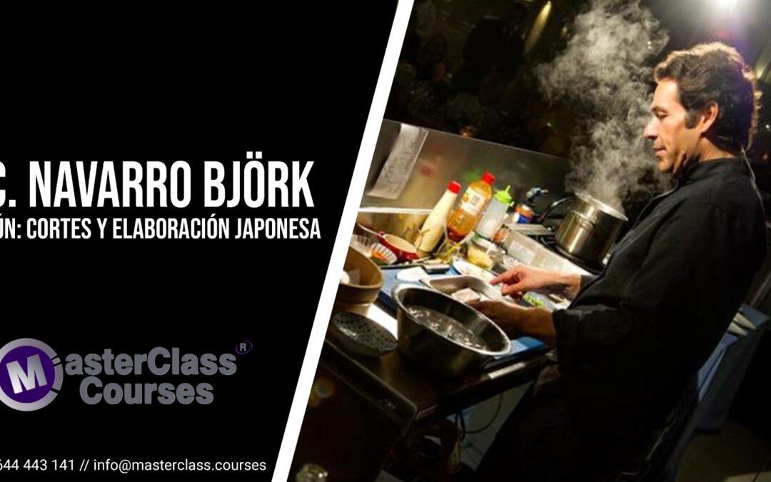 Masterclass con Carlos Navarro Björk. Atún: Cortes y elaboraciones japonesas.