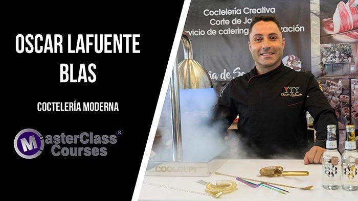 Masterclass con Óscar Lafuente. Coctelería Moderna