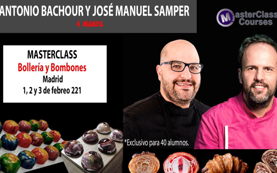 Antonio Bachour y José M. Samper. Bollería y Bombones.