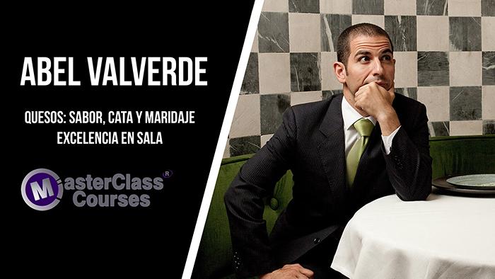 Masterclass con Abel Valverde. Quesos: Sabor, cata y maridaje.