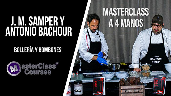 Masterclass con Antonio Bachour y José M. Samper. Bollería y bombones. Madrid